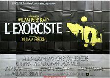 L'EXORCISTE The Exorcist Affiche Cinéma GEANTE / Movie Poster William Friedkin