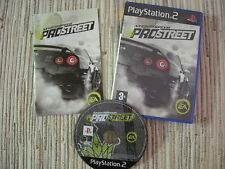 PLAYSTATION 2 PS 2 NEED FOR SPEED PROSTREET NFS