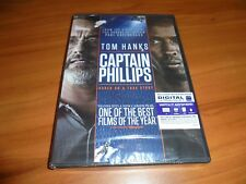 Captain Phillips (DVD, 2014, Widescreen) Tom Hanks,Barkhad Abdi NEW
