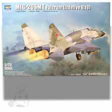 TRUMPETER 1/72 MIG-29SMT FULCRUM (IZDELIYE 9.19) KIT 150PC 01676