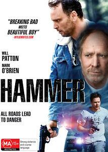 BRAND NEW Hammer (DVD, 2021) *PREORDER R4 Movie Will Patton | Mark O'Brien