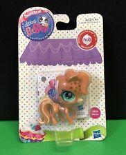 Littlest Pet Shop New Tan Brown Swirl Spotted Horse/ Pony NIB Rare Hub Pet 3118