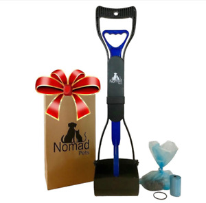 """Nomad 24"""" LARGE Pooper Scooper for Dogs Cats Pets Poop /  Comes with Waste Bags"""