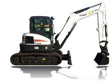 BOBCAT E50 Compact Excavator Service & Operator's Manual CD