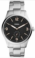 Fossil Vintage 54 Stainless Steel Bracelet 42mm Men's Watch FS5245  NEW!