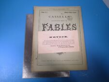 Vintage Cassell's Illustrated Book of Fables La Fontaine #17 - Gustave Dore L992