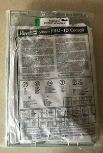 Revell 1/32 Vought F4U-1D Corsair *Bagged Kit* No Decals