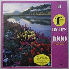 jigsaw puzzle 1000 pc BIG BEN Glacier Bay National Park Alaska 4962-11