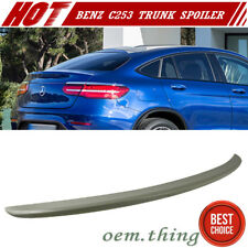 Painted Mercedes BENZ GLC C253 X253 Coupe SUV Trunk Spoiler Boot 16-17 GLC250