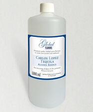 CARLOS LOPEZ TEQUILA • SAVE! 1000ml Spirit Essence Quality Bulk Home Brew Flavor