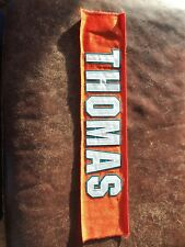 Zach Thomas (Miami Dolphins)....NFL Game Worn Jersey Nameplate