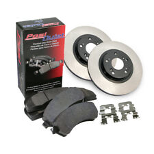 Front Premium Brake Rotor&Posi-Quiet Extended Pad 3PCS For 1996-1997 GMC Sonoma