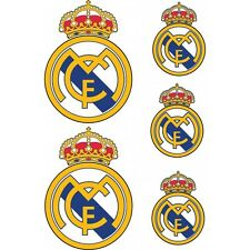 adesivi Calcio Real de Madrid 5 adesivi Real de Madrid
