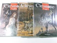 CLAYMORE #  1 + 2 + 3 komplett ( Kult Editionen Hardcover ) Neu