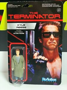 The Terminator Kyle Reese Vintage Style Funko ReAction Action Figure Super 7