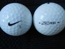 """20   NIKE """"NDX FEEL""""  MIXED MODELS  Golf Balls  """"PEARL/A"""" Grades."""