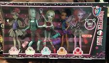 Monster High Dance Class 5 Pack ROCHELLE GIL LAGOONA ROBECCA OPERETTA Exclusive