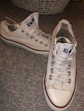 White Converse Size 5
