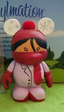 "Disney Vinylmation 3"" Park Set 2 Cutesters Too Girl with Red Scarf"