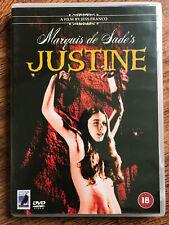 Marquis de Sade's JUSTINE ~ 1969 Jess Franco Cult Film | Rare Anchor Bay UK DVD