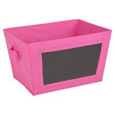 Boites de rangement roses pour le bureau