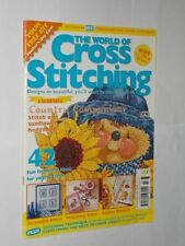 The World of Cross Stitching March Craft Magazines