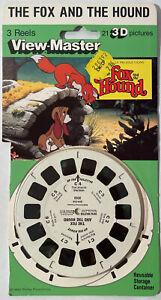 VTG View-Master Walt Disney's  Fox And The Hound 1980 3D