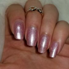 Pink Linear Holographic spectra flair Shiny Nail Polish 5-Free Cruelty-Free