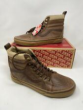 Vans SK8-Hi MTE Leather Brown Shoes men's us Size 9