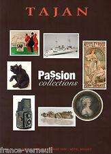 Catalogue Vente Tajan Affiche Jouet Appareil photo menu... de collection