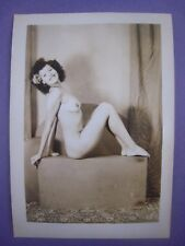 ORIG. 1940S 7x5 PInup Photo..Busty Beauty '.,RISQUE,NUDE..# 593-18..Hawaii