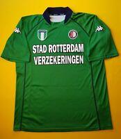 4.8/5 Feyenoord Rotterdam jersey XL 2002 2003 shirt Kappa soccer football ig93