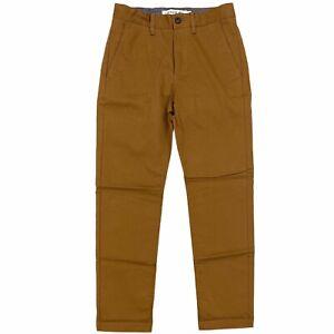 Lacoste Men's Regular Fit Stretch Cotton Chino Pant Khaki Brown HH8811