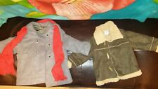 2 baby casual coat size 12 month 🚼stylish suede and double breast 🔥