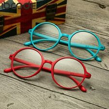 Reading Glasses Round Frame Clear Lens Women Men Ultralight Eyewear