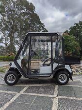 EMC Golf Cart Utility 2013 Great Condition Trojan Batteries Glass Windscreen