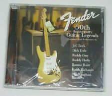 FENDER 50th Anniversary Guitar Legends CD Jeff Beck/ Eric Clapton NEW/SEALED