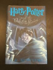 Harry Potter And The Order Of The Phoenix 2003 1st Edition July Hardcover Book