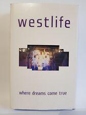 Westlife Where Dreams Come True Live Concert Dublin VHS Tape