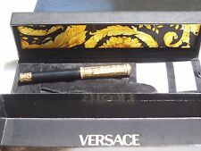 Gianni Versace by Omas Gold Crocodile Skin Fountain Pen with 18K Nib