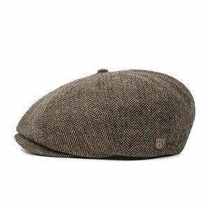 Brixton Brood Snap Cap - Brown/Khaki