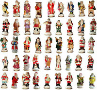 Lot of 42 Memories of Santa Collection Ornament/Figurines New In Box Don Warning