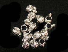 10pcs Antique  Spacers Charm Beads fit European Bracelet &Necklace
