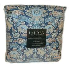 RALPH LAUREN Chapman Oriental Floral Blue 3P FULL/ QUEEN COMFORTER SET NEW SHAMS