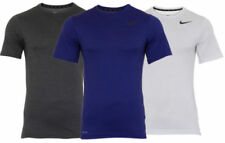 Maglie e top da uomo bianco Nike per palestra, fitness, corsa e yoga