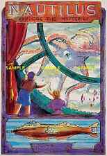 "Disneyland Nautilus [ 8.5"" x 11"" ]    Poster"