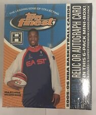 2005-06 Topps Finest Basketball Sealed Hobby Mini Box