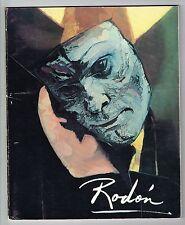 Francisco Rodon Art Catalog Expo Personajes De Rodon Puerto Rico 1983 Signed