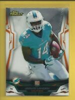 Jarvis Landry RC 2014 Topps Finest Rookie Card # 102 Miami Dolphins Football NFL