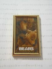 DisneyNature Films DISNEY BEARS MOVIE POSTER PIN Celebrate 2014 Earth Day LE2000